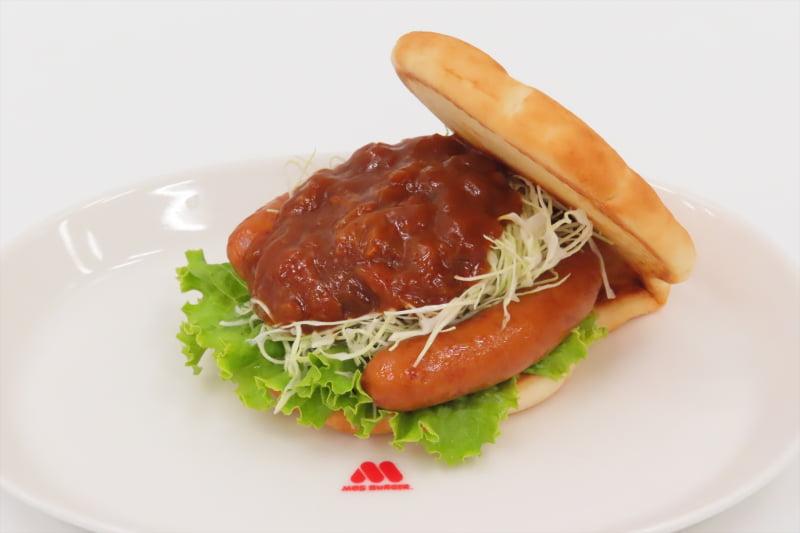 フォカッチャサンド 馬蹄型ソーセージ&グランピングソース