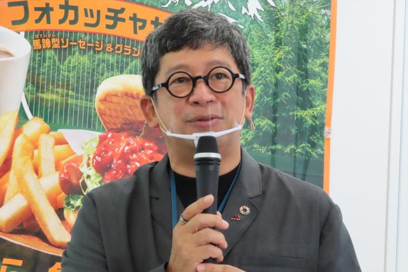 上席執行役員 マーケティング本部長の安藤芳徳氏