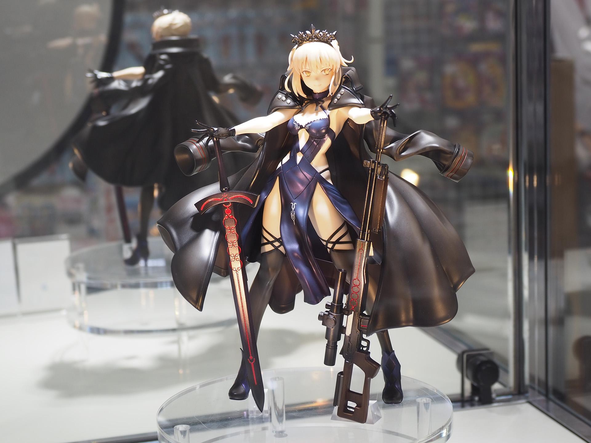 付属品も多く、デティール感満載の「Fate/Grand Order ライダー/アルトリア・ペンドラゴン〔オルタ〕」