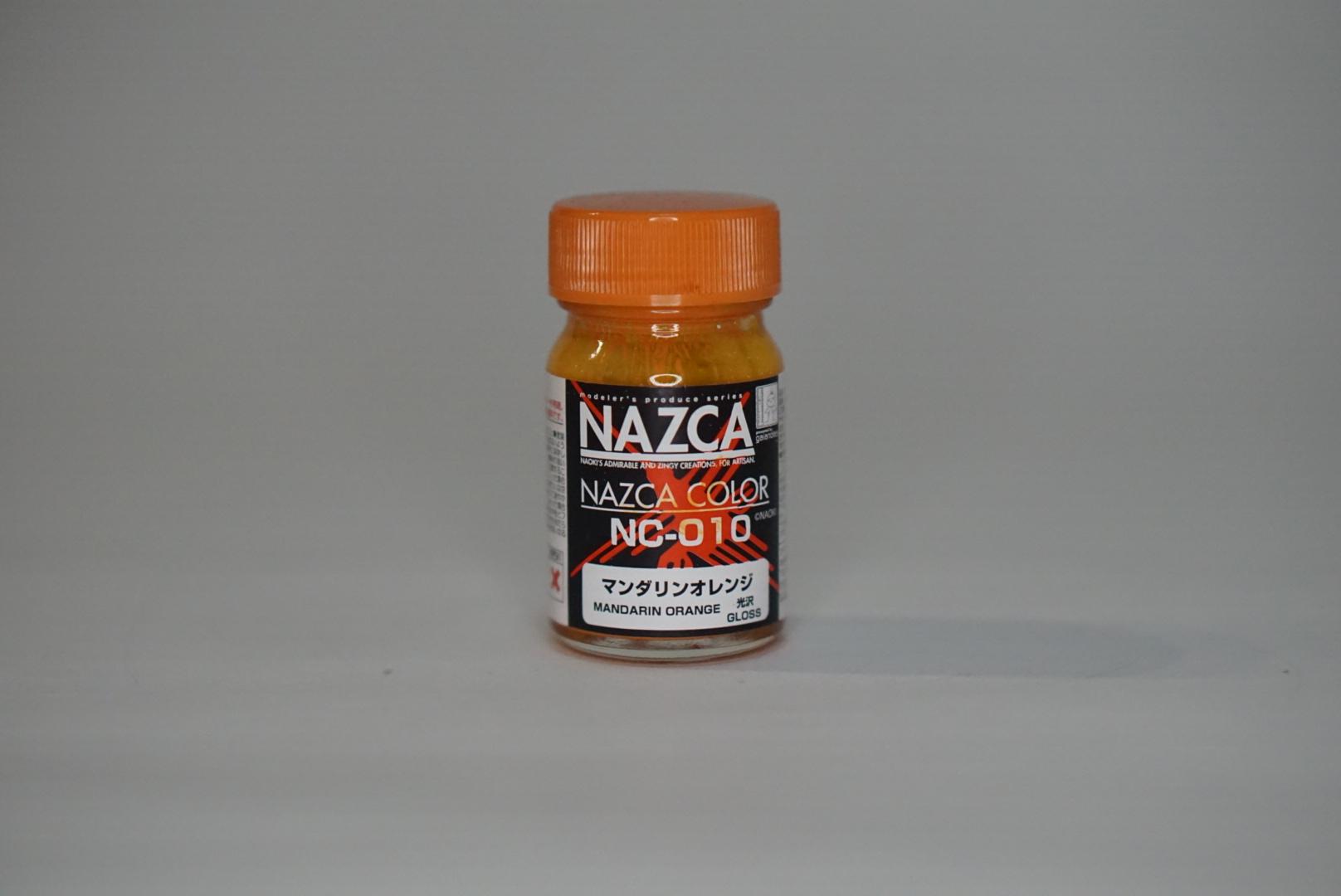 ガイアノーツの「NAZCAシリーズ マンダリンオレンジ」 350円(税別)