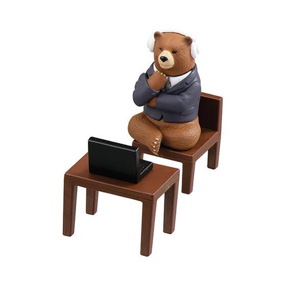 本当は夜ご飯のこと考えてるクマ