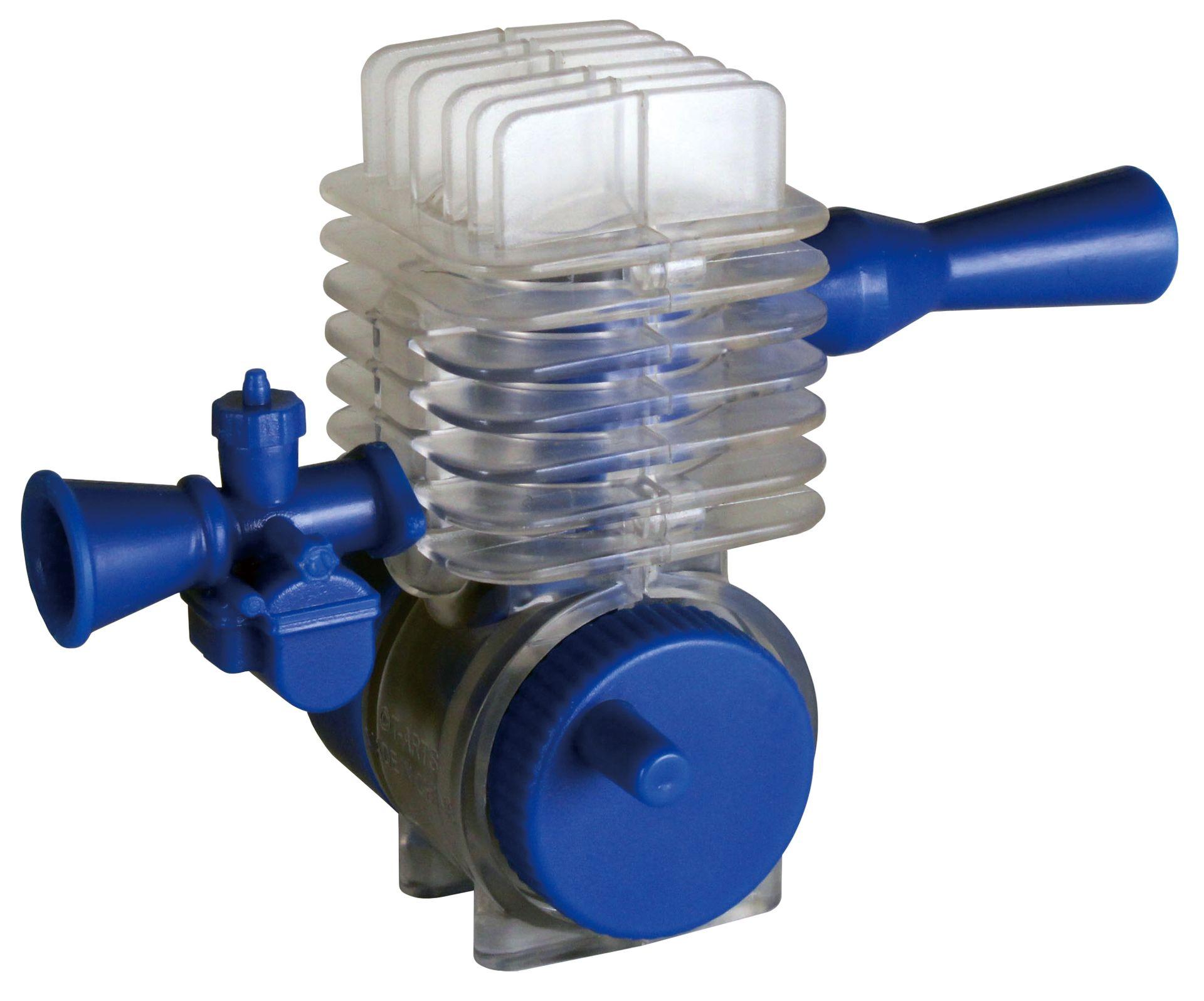 2ストロークエンジン BLUE 2-STROKE ENGINE