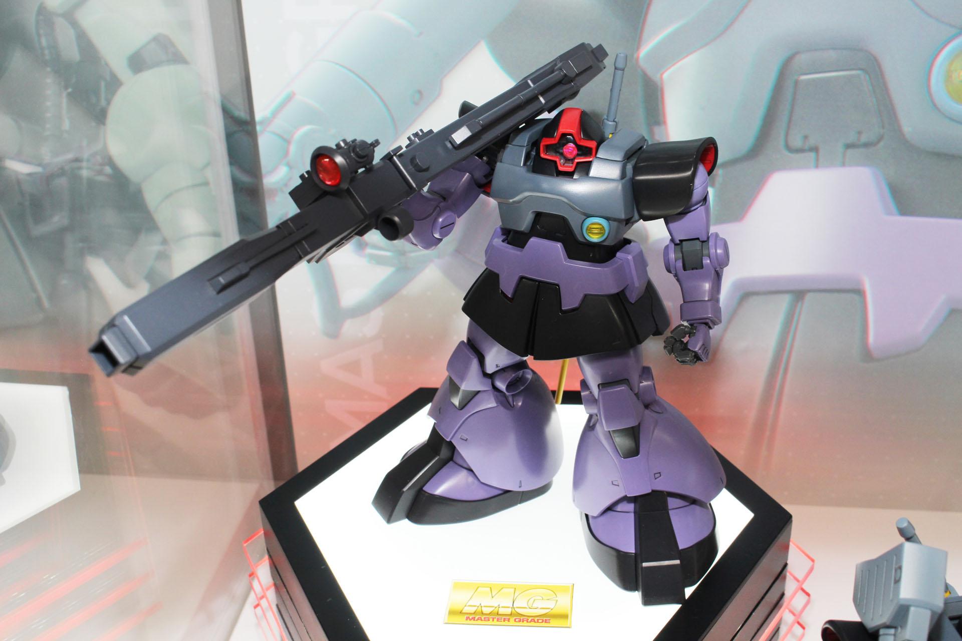 リニューアル版「MG 1/100 リック・ドム」。既存のMGではビームバズーカなど装備武器も一部異なっていた