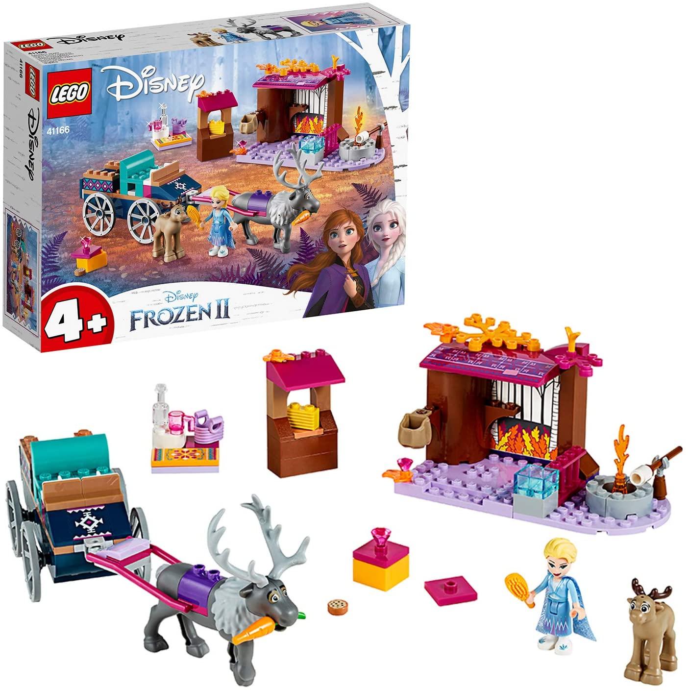 """レゴ(LEGO) ディズニープリンセス アナと雪の女王2""""エルサのワゴン・アドベンチャー"""""""