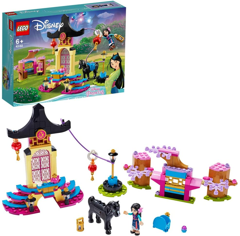レゴ(LEGO) ディズニープリンセス ムーランのトレーニング場