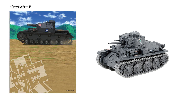 38(t)戦車B/C型(本戦時) 大洗女子学園 カメさんチーム