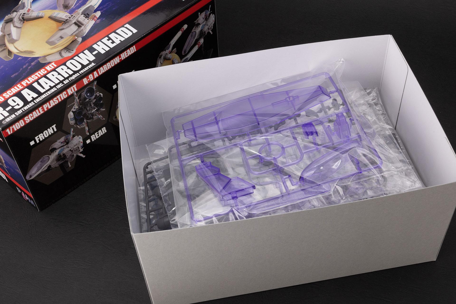 こちらが箱を開けたところ。この箱の厚さにまずビビる。