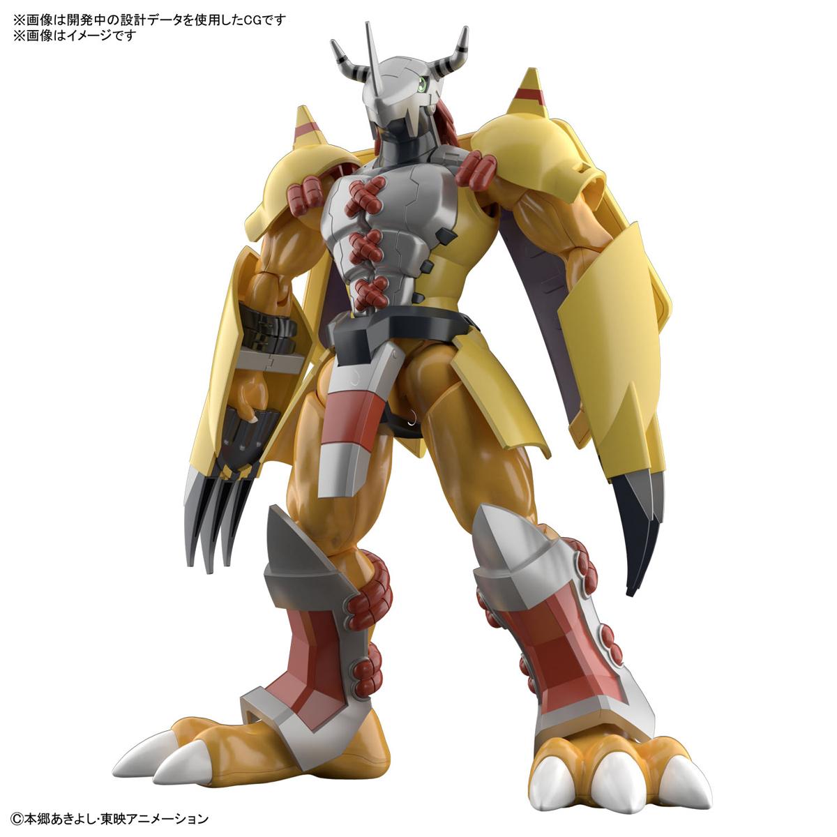 今回レビューする「Figure-rise Standard ウォーグレイモン」はTVアニメなどで見慣れた姿を忠実に再現