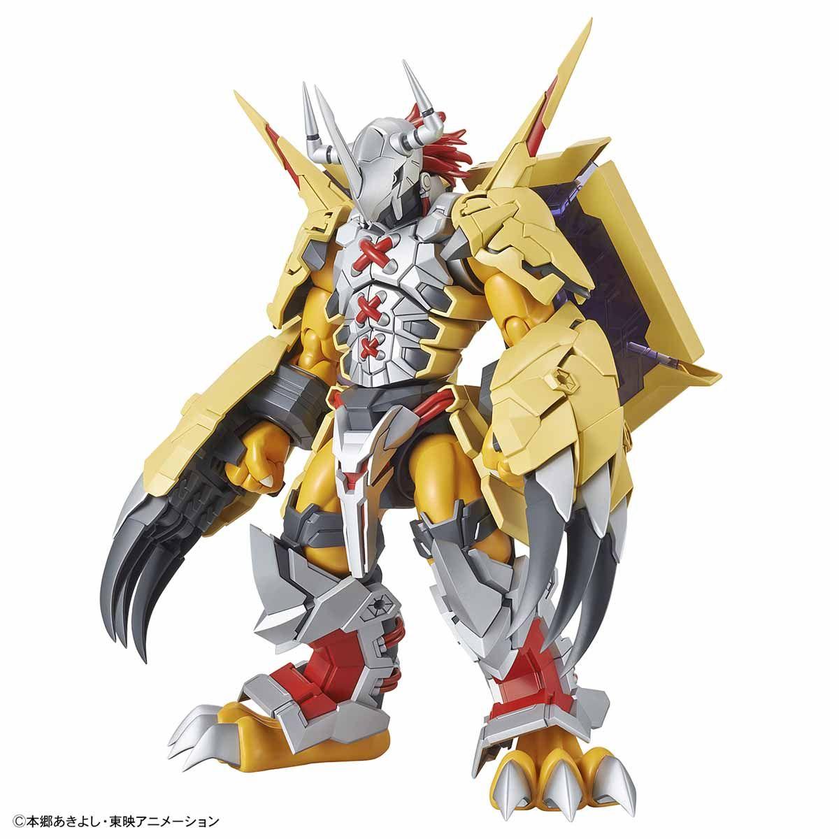 「Figure-rise Standard Amplified ウォーグレイモン」はTVアニメでの姿をもとにオリジナルアレンジを施したプラモデル