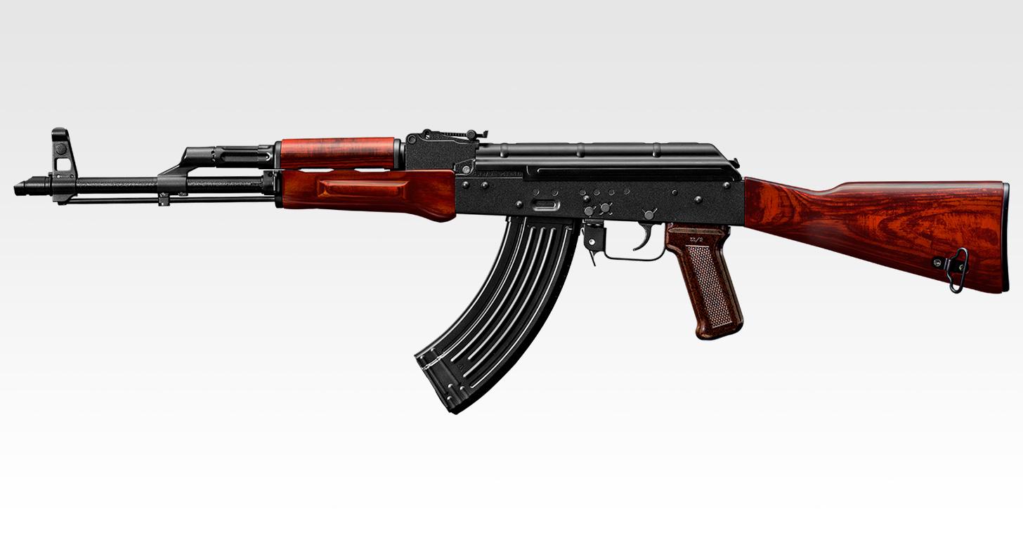 いよいよ発売となった「ガスブローバックマシンガン AKM」