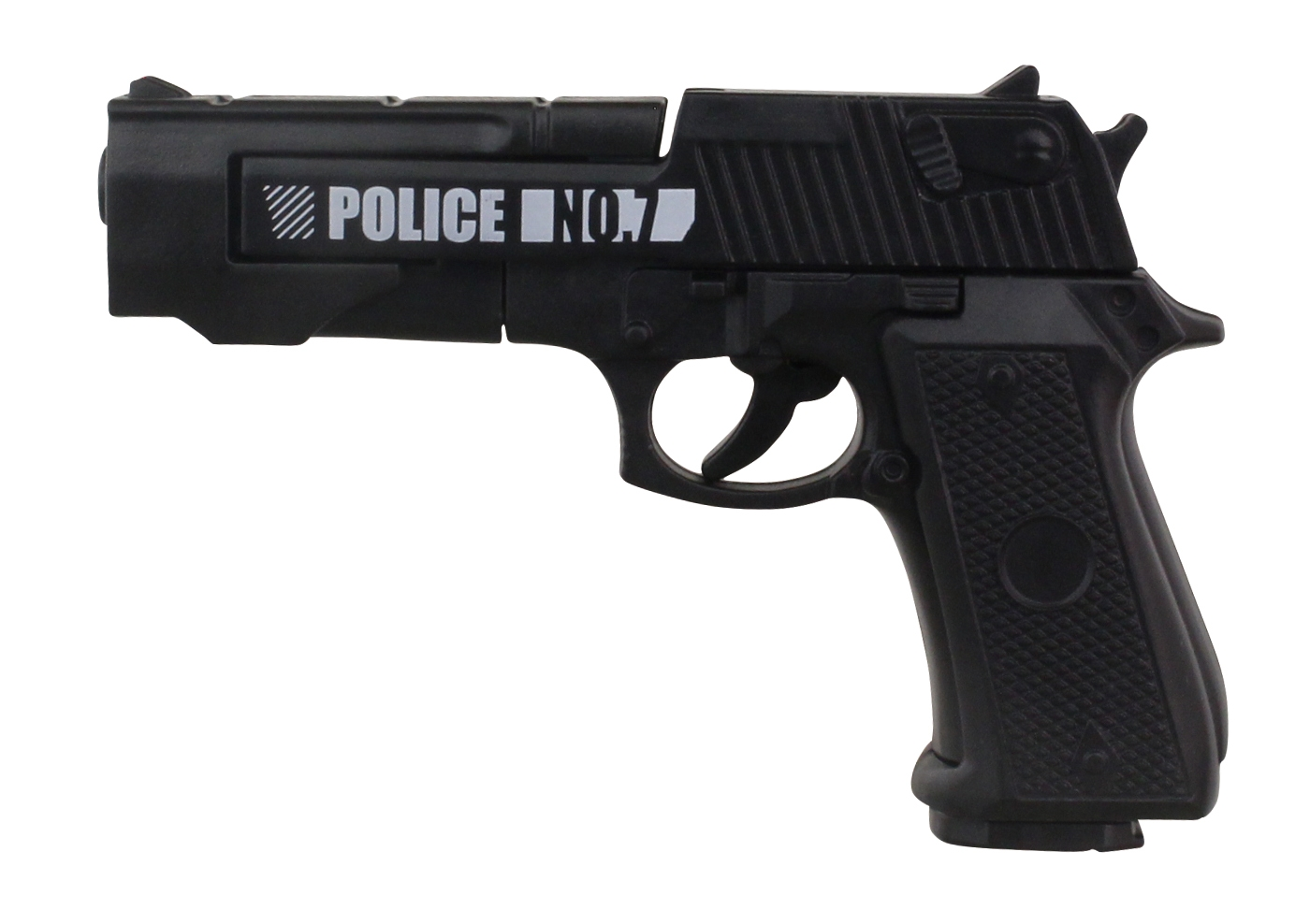 撃つことができる拳銃。サイズは約75mm