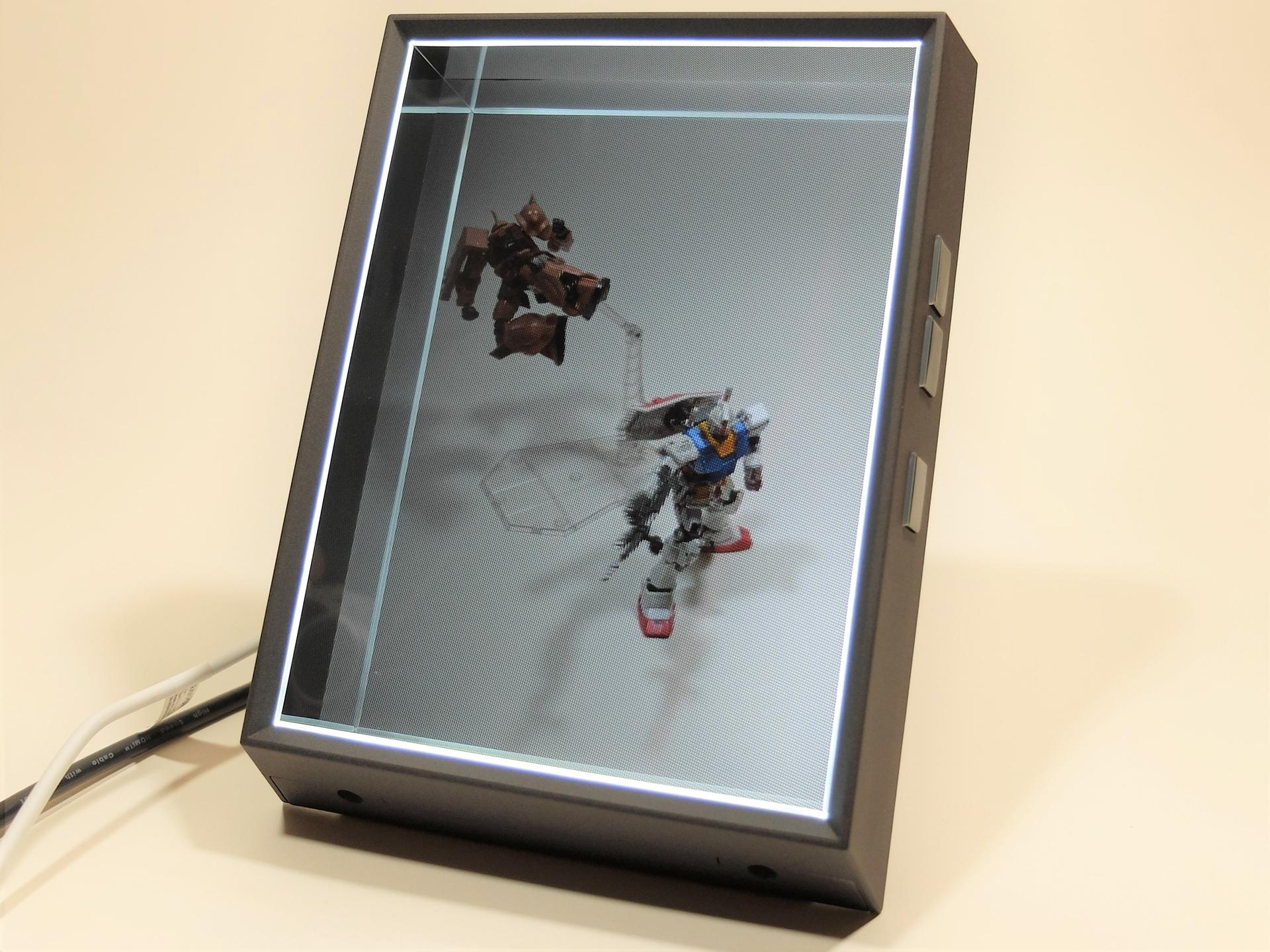 「Looking Glass Portrait」はポートレート画像などを立体表示できるディスプレイデバイス