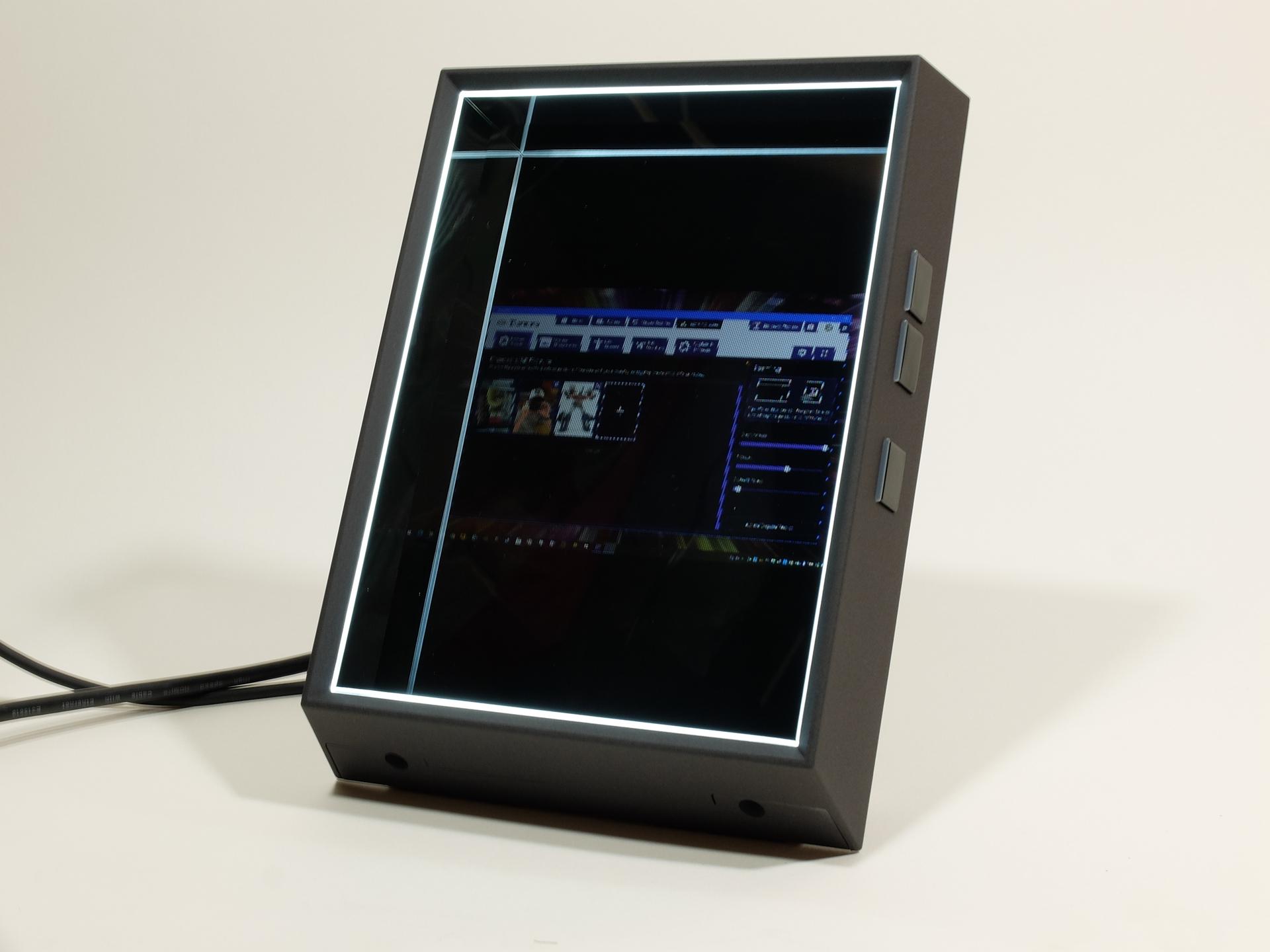 PC接続時に対応ソフトが起動していない場合、PCのマルチディスプレイとして扱われる