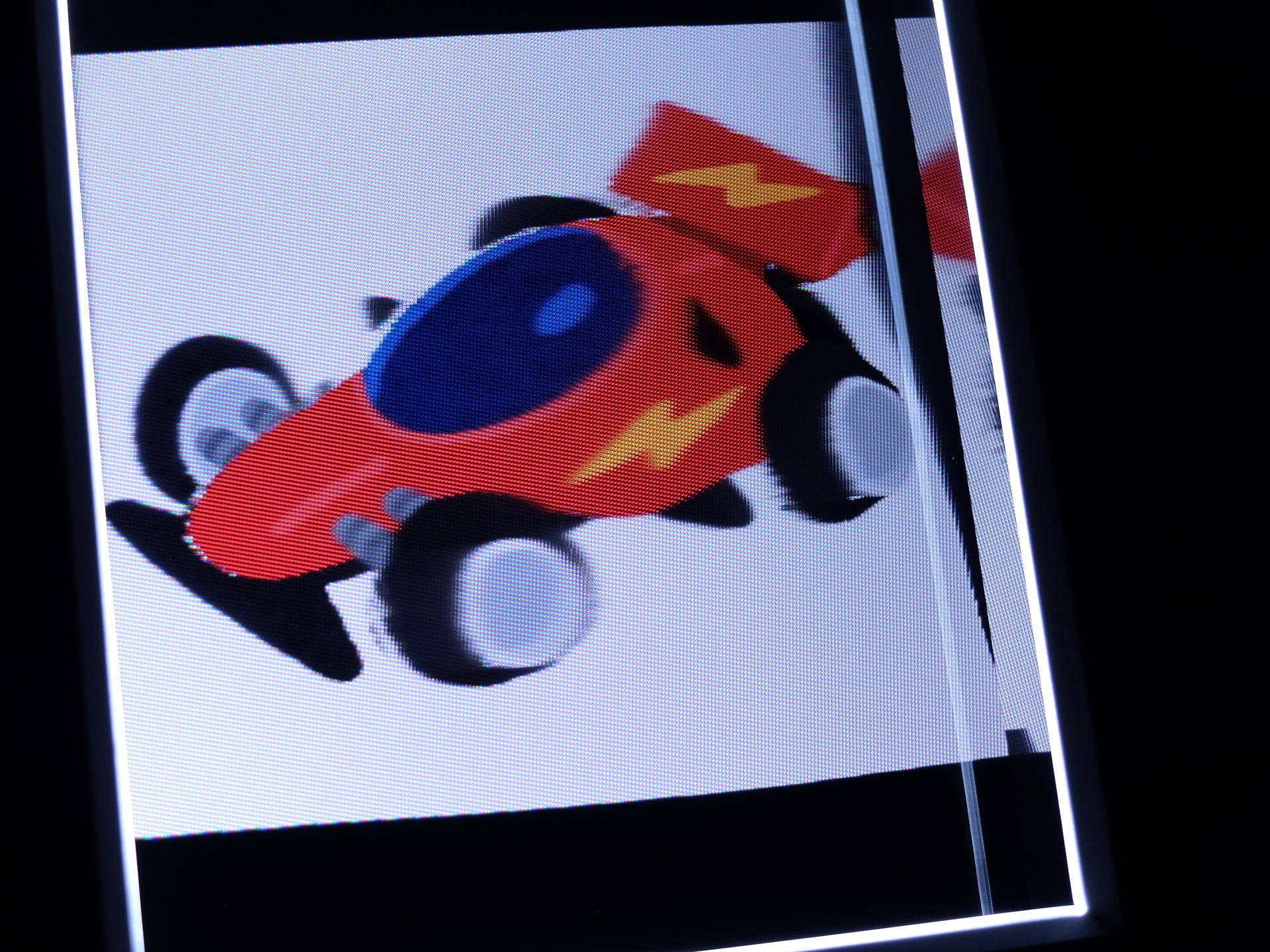 イラストについても試してみたが、これが意外といい形で変換できた。今回はいらすとやのスポーツカーの画像を変換してみたが、思いのほか立体感のある画像へと変化した