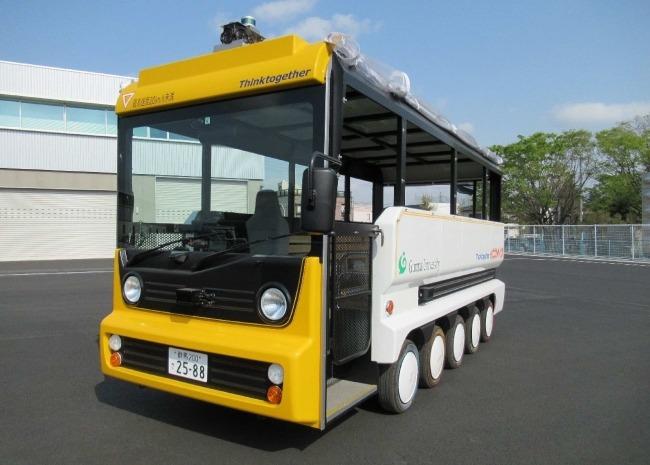 自動運転EV観光用モビリティ「eCOM-10」