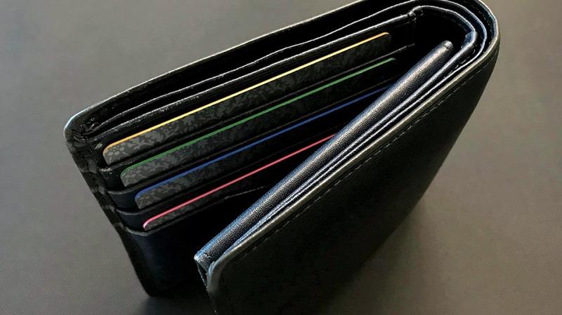 財布に入れた際のイメージ