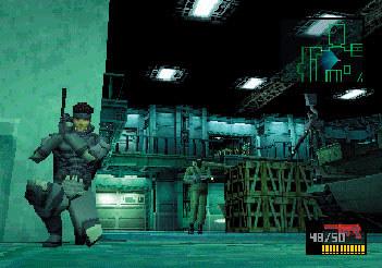 METAL GEAR SOLID<br>(C)Konami Digital Entertainment