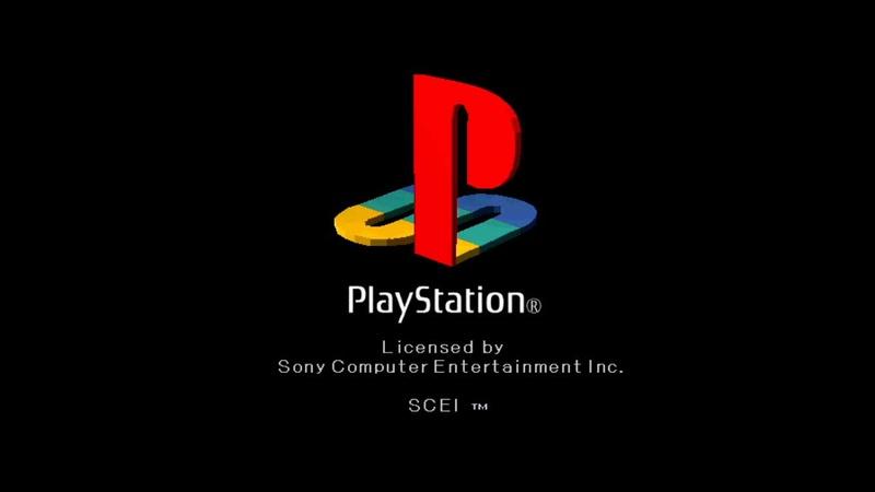 ゲームを起動すると「PSロゴ」が