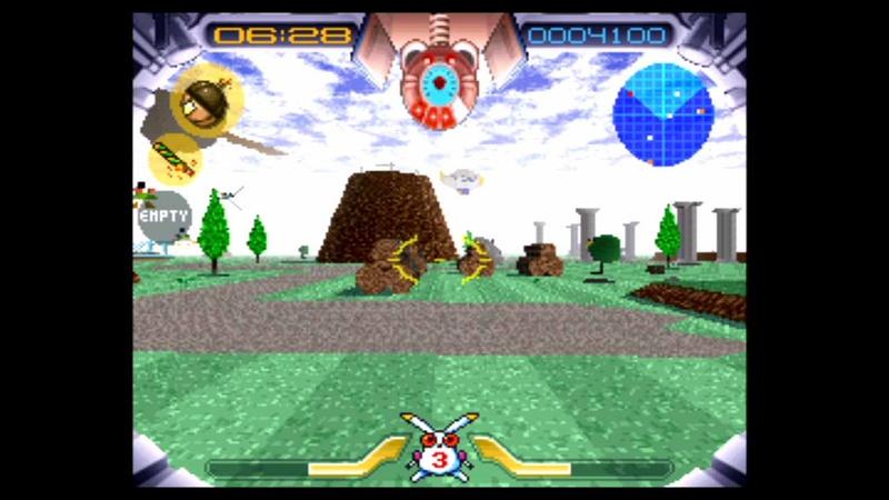"""ゲームをやってみた。まずは「ジャンピングフラッシュ! アロハ男爵ファンキー大作戦の巻」から。プレイ感覚はあの時のままだ。<span class=""""fnt-70"""">©1995 Sony Interactive Entertainment Inc.</span>"""