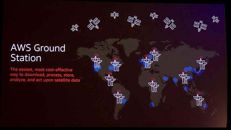 AWSはAWS Ground Stationのために12の衛星基地局を設置し、AWSのリージョン内に配置して連携する