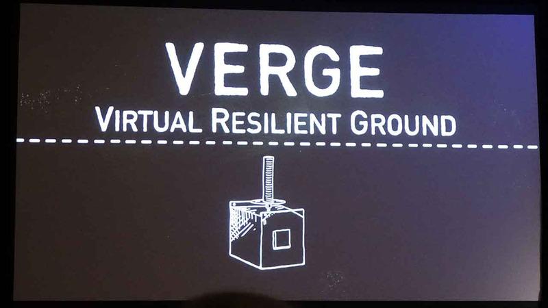 ロッキードマーティンが発表した、低軌道衛星向けの新アンテナネットワークシステム「Verge」。弾力的な運用ができることが特徴
