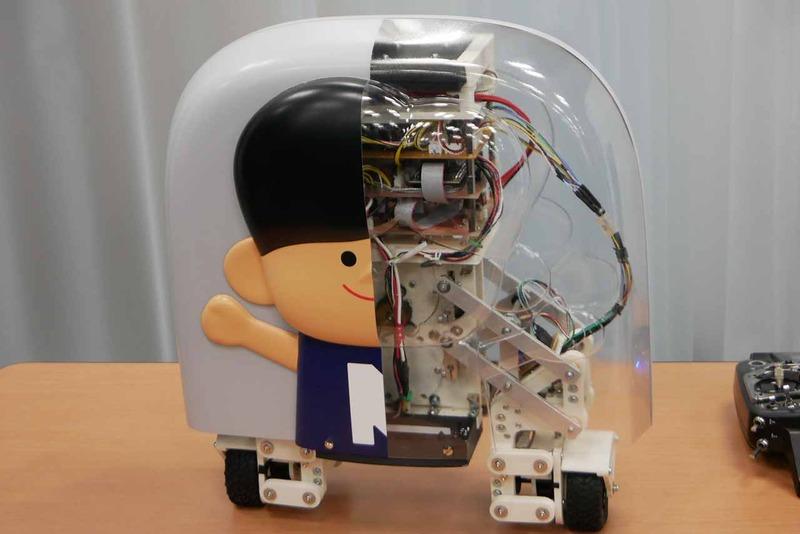 振動を吸収するスタビライザーやバランスを制御するロボ