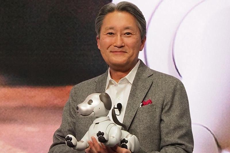 平井一夫会長(2018年1月のCESで撮影)