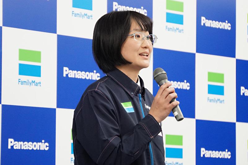 副店長を務めるファミリーマート ニューマーケット運営事業部 山田恵理子氏