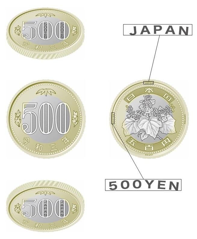 新五百円貨幣