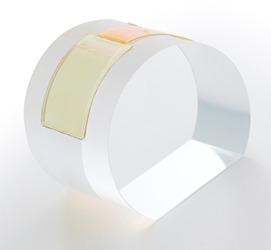 静電容量式フレキシブル指紋センサー