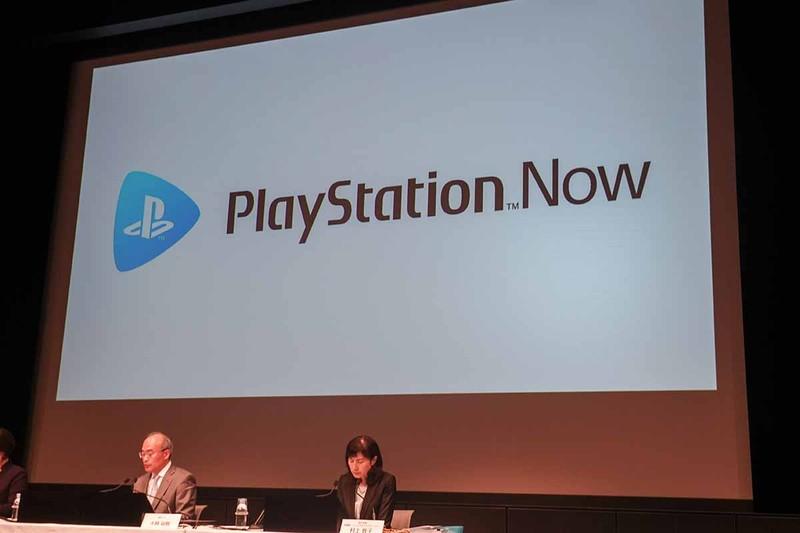 4月26日のソニー2018年度決算説明会でのひとこま。「なぜわざわざPlayStation Nowの話を……?」と疑問を感じたが、ある種の予告だったのかもしれない。