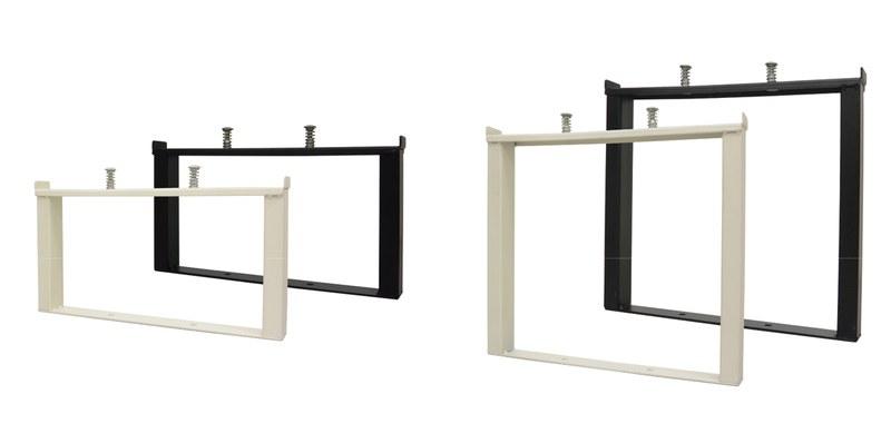 増段セット 高さ150mm(左)、250mm(右)。いずれも単品(1個)での販売