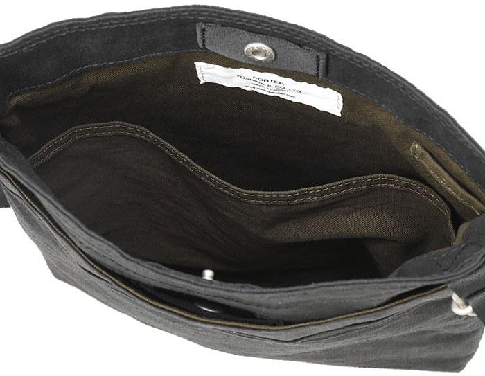 SHOULDER BAG(L) ブラック