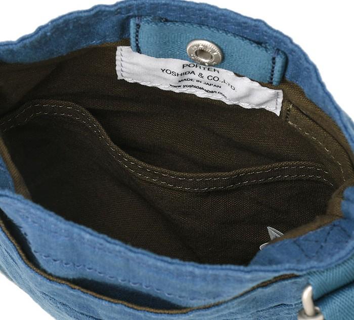 SHOULDER BAG(S) ブルー