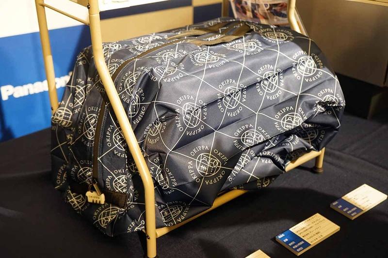OKIPPAの袋は57L。大きな荷物を収納できる