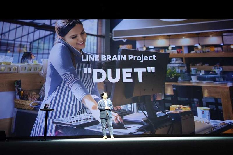 AIが電話で応対してくれる「DUET」プロジェクトに取り組む