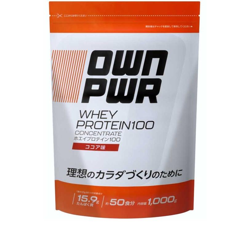 [Amazonブランド]OWN PWR ホエイプロテイン 100 ココア味