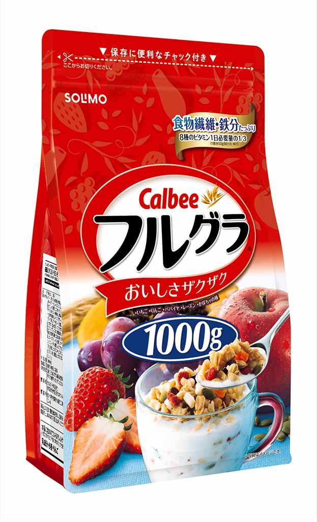 [Amazonブランド]SOLIMO カルビー フルグラ 1000g×6袋