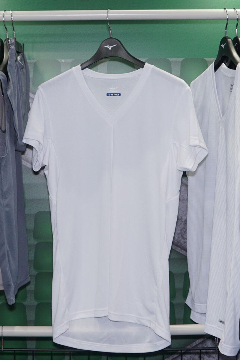 アイスタッチクイックドライ・アンダーウェア Vネック半袖シャツ