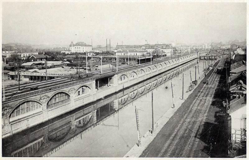 完成当初の煉瓦アーチ高架橋