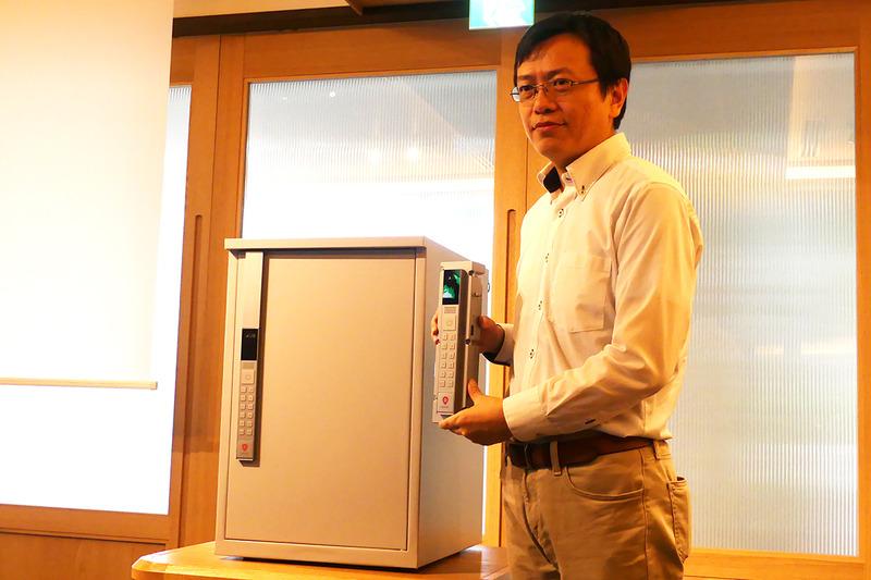 PackPortとスマートロック部を持つPacPort代表取締役社長 沈燁氏