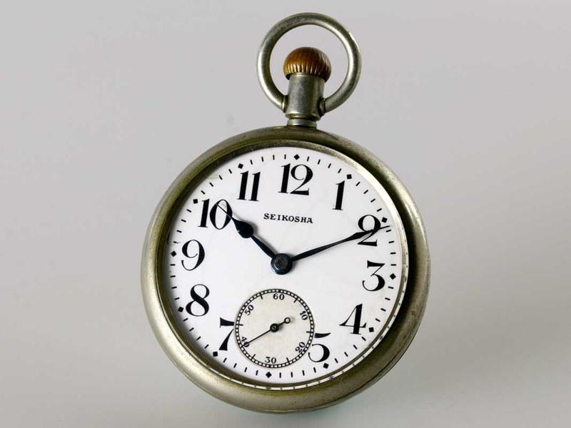初代鉄道時計