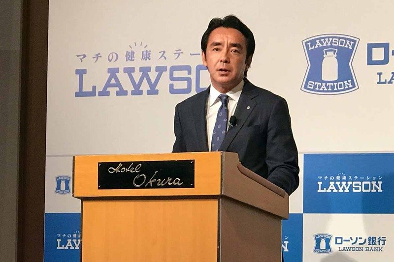 ローソン代表取締役社長の竹増貞信氏