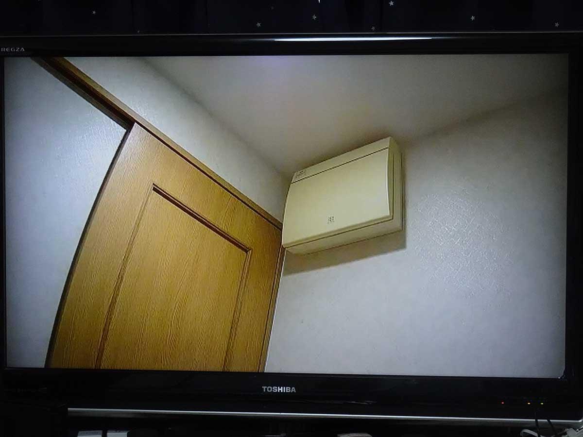 カメラの映像をChromecastでテレビ表示