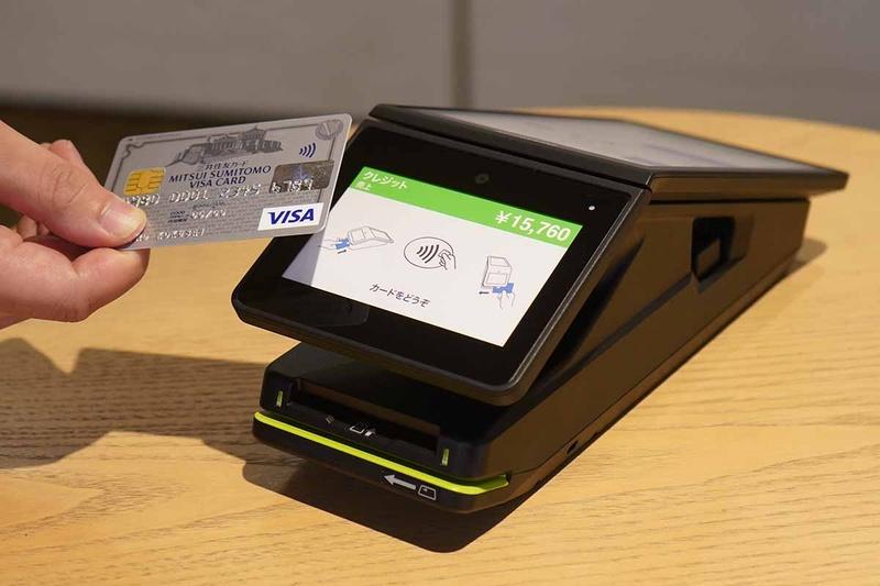 三井住友カードの次世代決済プラットフォーム「stera」で使われる「stera terminal」
