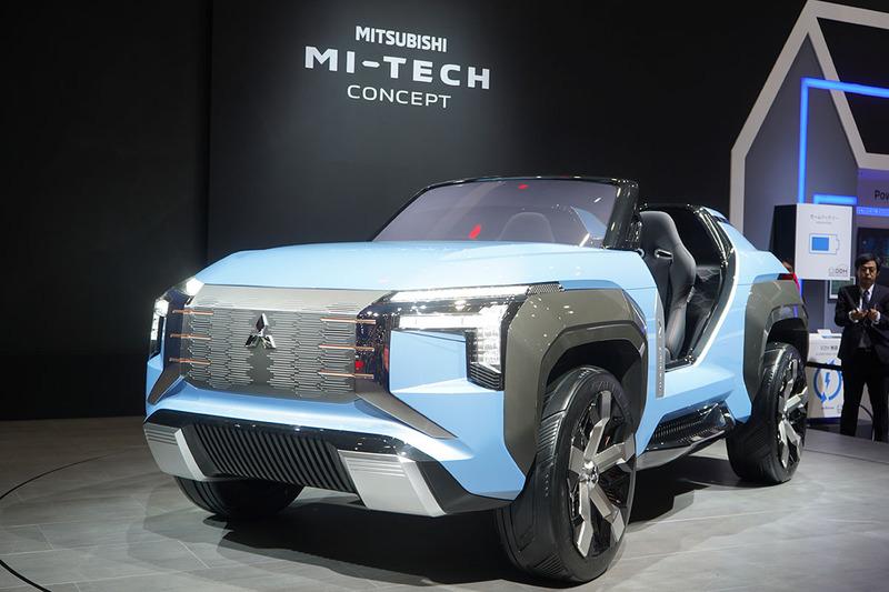三菱自動車のMI-TECH CONCEPT
