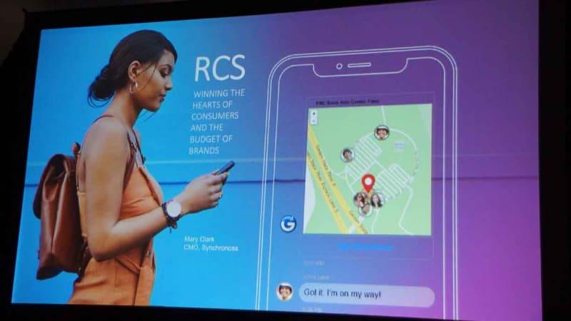 いまだ効果的なソリューションは登場しないものの、世界の携帯キャリアが取り組んでいる「RCS(Rich Communication Service)」。MWC Los Angeles 2019のセミナーにて