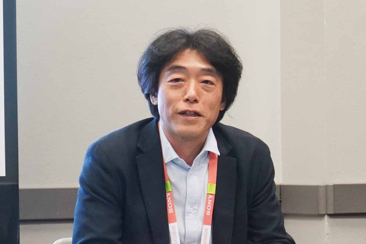 ソニー AIロボティクスビジネス担当 執行役員 川西泉氏