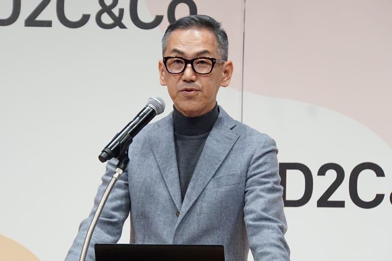 D2C&Co. 代表取締役社長 加藤浩嗣氏