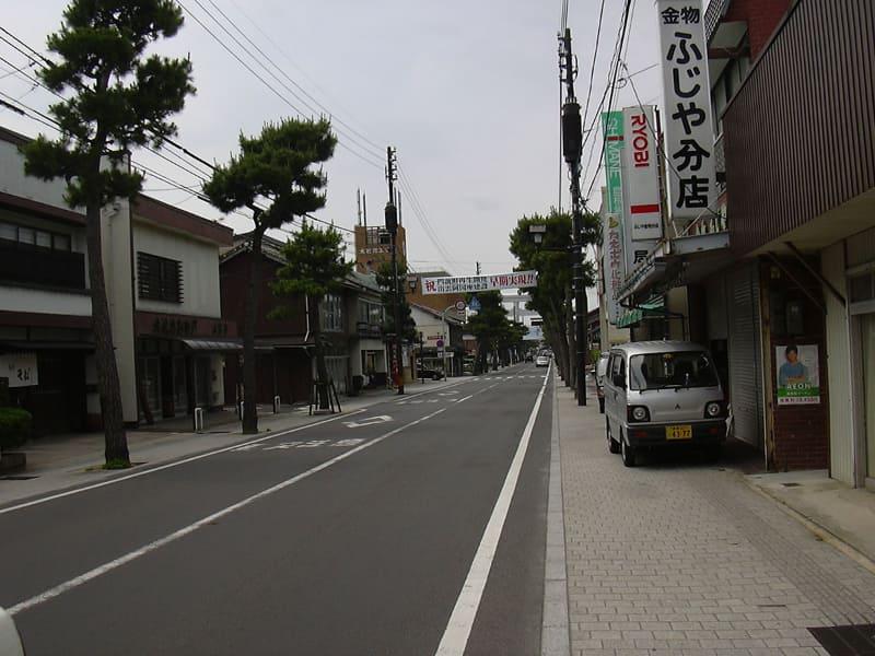 2007年ごろの神門通り商店街